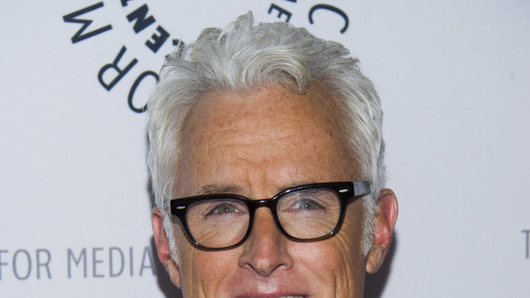 "John Slattery from the cast of ""Man Men"" attends ""Mad-ness Returns to the Paley Center"" at The Paley Center for Media on Tuesday, April 23, 2013, in New York. (Photo by Charles Sykes/Invision/AP)"