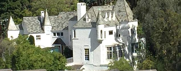Family transforms Hollywood castle into home