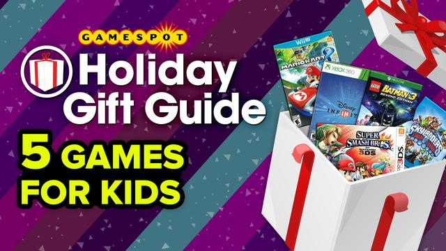 5 Games for Kids - GameSpot Holiday Gift Guide 2014