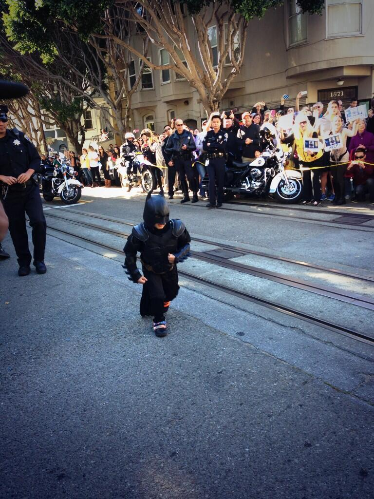 Batkid movie coming from Julia Roberts