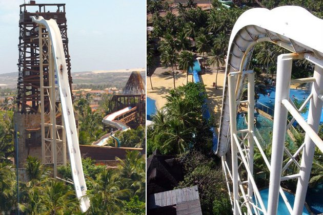 World's wildest water slides