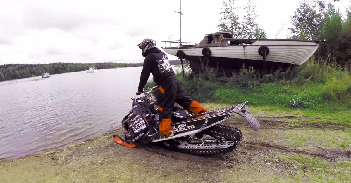 Sink or Swim: Can a Snowmobile Ride Across Water?