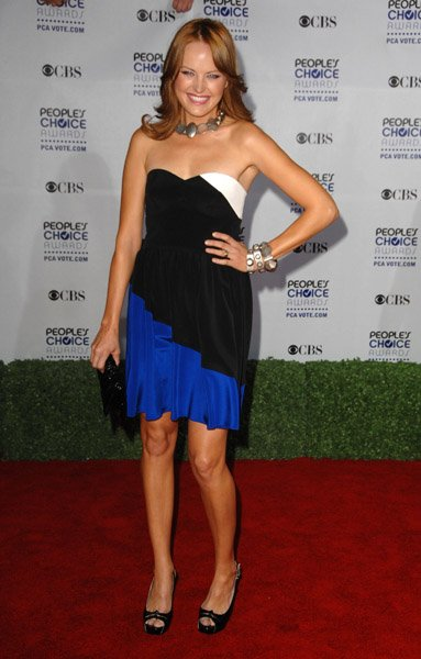 Malin Akerman in Jay Godfrey