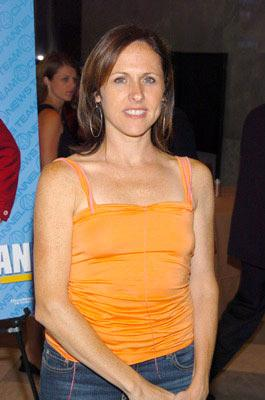 Premiere: Molly Shannon at the New York premiere of Dreamworks' Anchorman - 7/7/2004