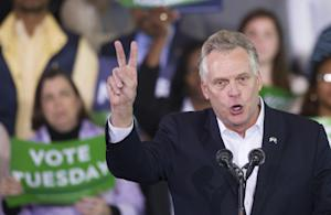 Virginia Democratic gubernatorial candidate Terry McAuliffe …