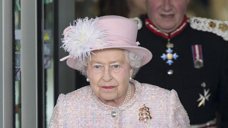 Queen Elizabeth II Is Accompanied by Prince Philip, Duke of Edinburgh To Cambridge