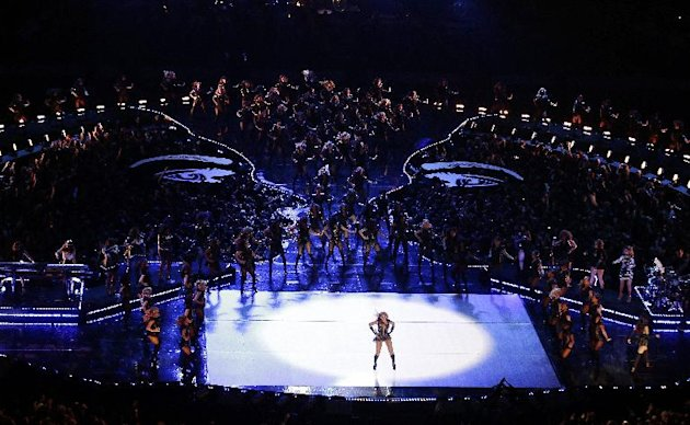 Beyonce performs during the …