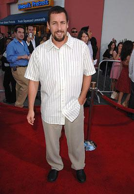 Adam Sandler at the premiere of Universal Pictures' I Now Pronounce You Chuck & Larry