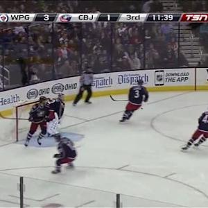 Sergei Bobrovsky Save on Blake Wheeler (08:20/3rd)