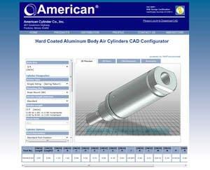 American Cylinder Launches New Website Featuring 3D Product Configurator With CAD Download Capabilities