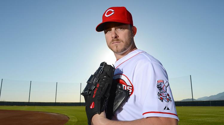 MLB: Cincinnati Reds-Photo Day