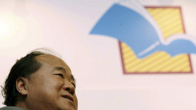 In this photo taken on July 22, 2007, Chinese writer Mo Yan attends the Hong Kong book fair in Hong Kong. Mo won the Nobel Prize in literature on Thursday, Oct. 11, 2012, a cause of pride for a government that had disowned the only previous Chinese winner of the award, an exiled critic. (AP Photo) CHINA OUT