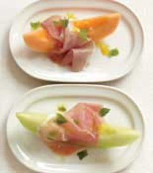 melon and prosciutto