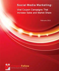 New Report Shows Successful Businesses Use Social Media to Distribute Coupons