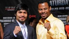 Manny Pacquiao, Shane Mosley Press Conference