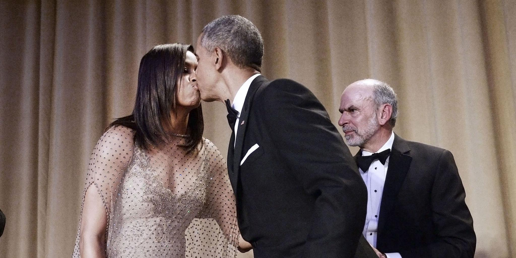 President Obama's Best Joke Last Night Was About How Amazing His Wife Is