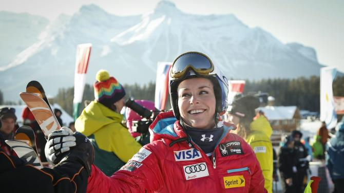 Vonn attacks more in 2nd race; Hoefl-Riesch wins
