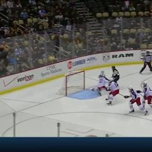Curtis McElhinney Save on Patric Hornqvist (00:57/2nd)