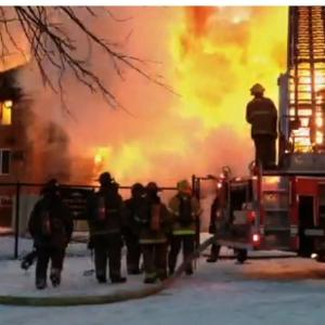 Detroit Man Describes Waking Up to Massive Fire