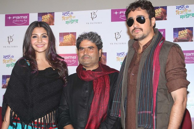 Imran and Anushka promote &amp;#39;Matru ki Bijlee Ka Mandola&amp;#39;
