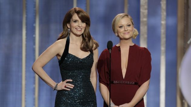 Tina Fey and Amy Poehler host the 70th Annual Golden Globe Awards -- Getty Images