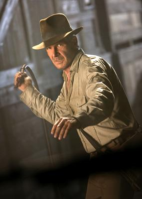 Harrison Ford in Paramount Pictures' Indiana Jones and the Kingdom of the Crystal Skull