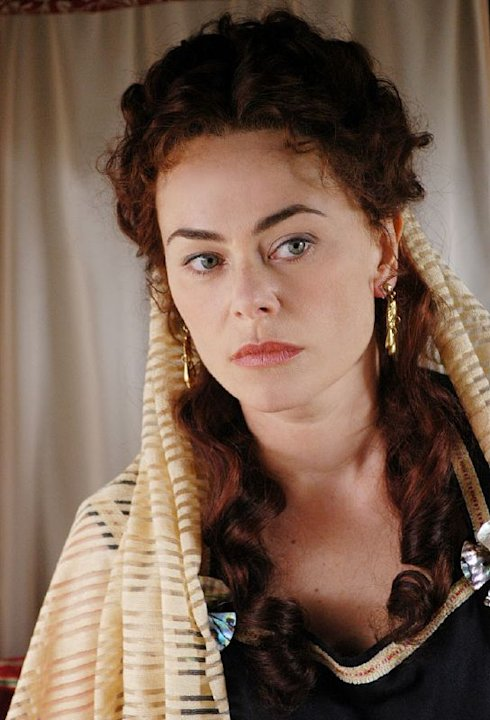 Polly Walker stars as Atia of the Julii in Rome on HBO.