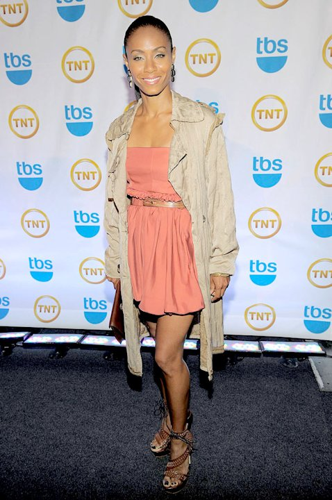 Jada Pinkett Smith attends the TEN Upfront presentation at Hammerstein Ballroom on May 19, 2010 in New York City.
