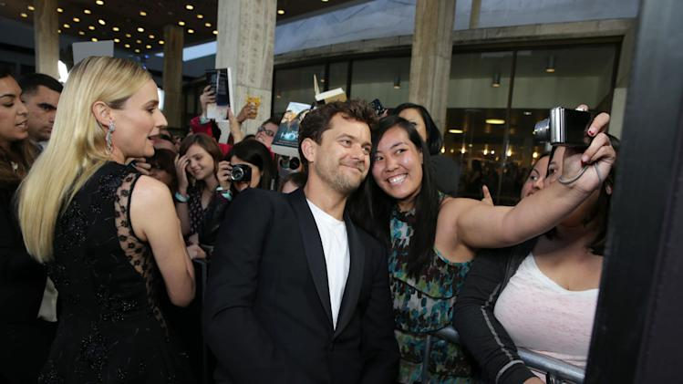 Joshua Jackson at Open Road Films Los Angeles Premiere of 'The Host' held at the ArcLight Hollywood, on Tuesday, March, 19, 2013 in Los Angeles. (Photo by Eric Charbonneau/Invision for Open Road Films/AP Images)