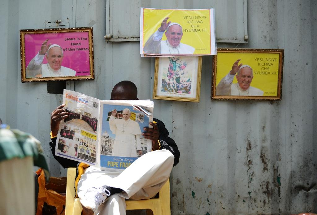 Kenyan faithful ready for pope visit