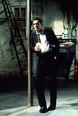 Michael Madsen as Mr. Blonde in Miramax's Reservoir Dogs
