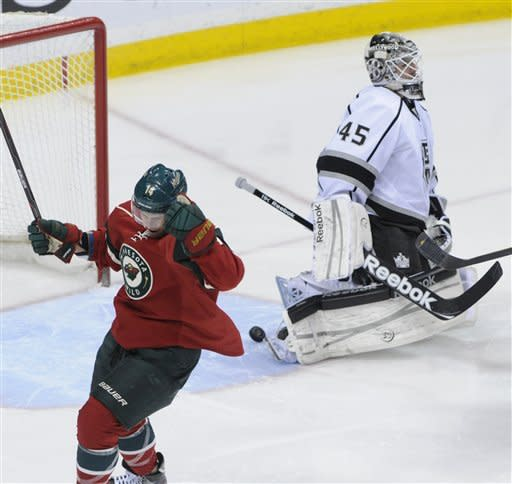 Wild get 2 in shootout to beat Kings 4-3