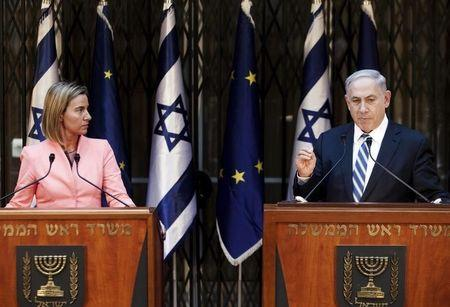 Israel to review EU Palestinian projects in settlement goods feud