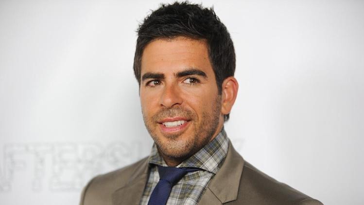 "FILE - This May 1, 2013 photo shows Eli Roth at the LA Premiere of ""Aftershock"" at the Chinese 6 Theatres in Los Angeles. Roth stars, co-wrote and produced the film opening nationwide on Friday, May 10. (Photo by Richard Shotwell/Invision/AP)"