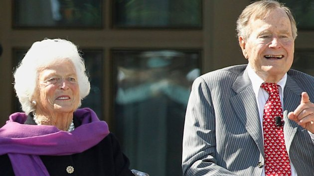 Former First Lady Barbara Bush Hospitalized (ABC News)