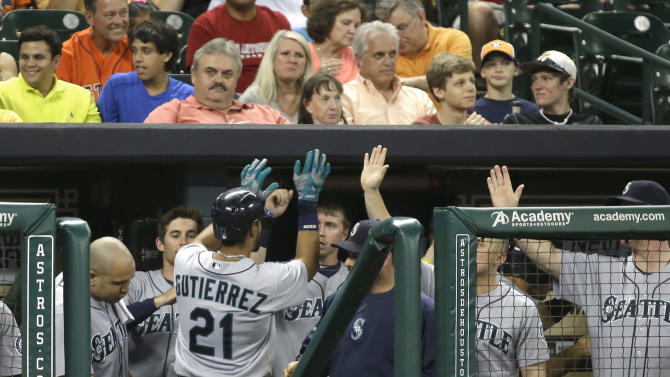 Mariners end 6-game skid with 3-2 win over Houston
