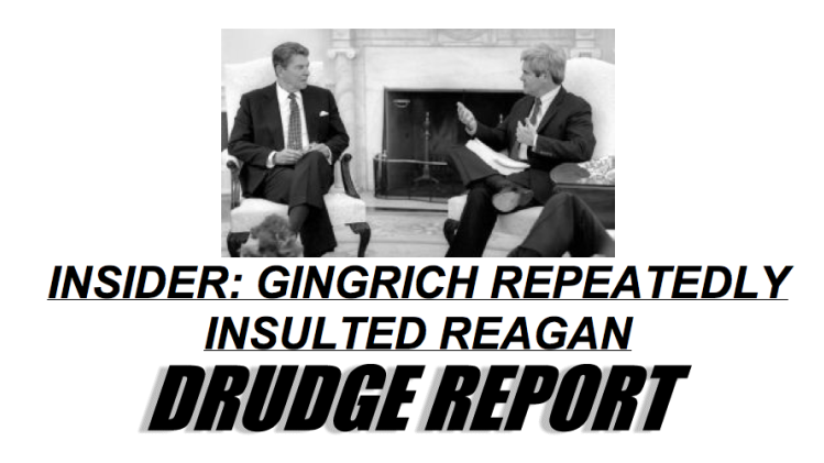 Drudge Turns on Santorum