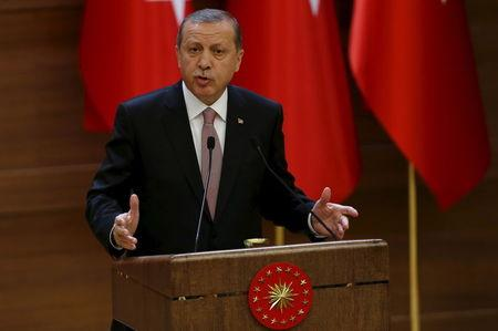 Turkey's Erdogan calls for new constitution to include more powerful presidency