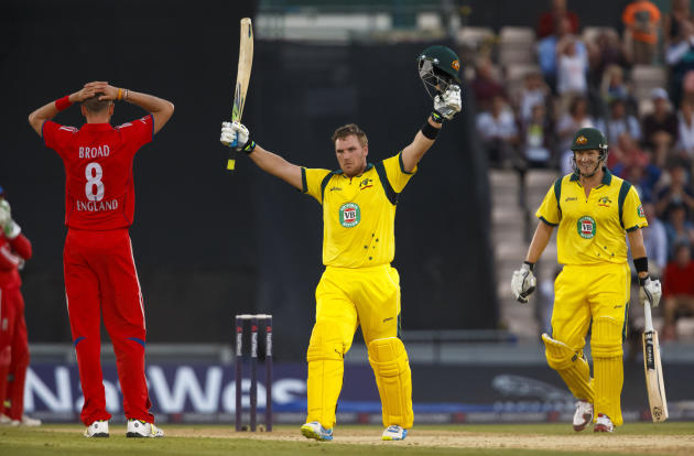 Cricket - First NatWest International T20 - England v Australia - Ageas Bowl