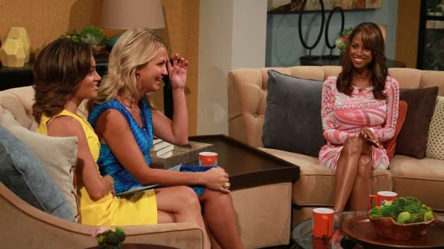 Stacey Dash sits down for an interview with Kit Hoover and Michelle Beadle on Access Hollywood Live, July 10, 2013 -- Access Hollywood
