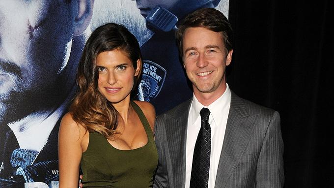 Pride and Glory NY Premiere 2008 Lake Bell Edward Norton