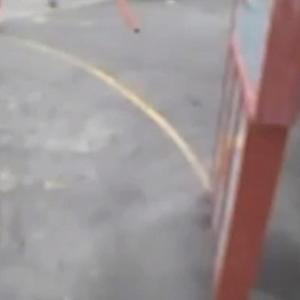 Watch: Video shows Suge Knight apparently hitting men with pickup truck