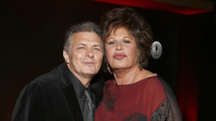 IMAGE DISTRIBUTED FOR ISRAEL FILM FESTIVAL - Isreal Film Festival Founder/Executive Director Meir Fenigstein and Lainie Kazan attend the 27th Israel Film Festival Opening Night Gala, on Thursday, April, 18, 2013 in Beverly Hills, California. (Photo by Todd Williamson/Invision for Israel Film Festival/AP Images)