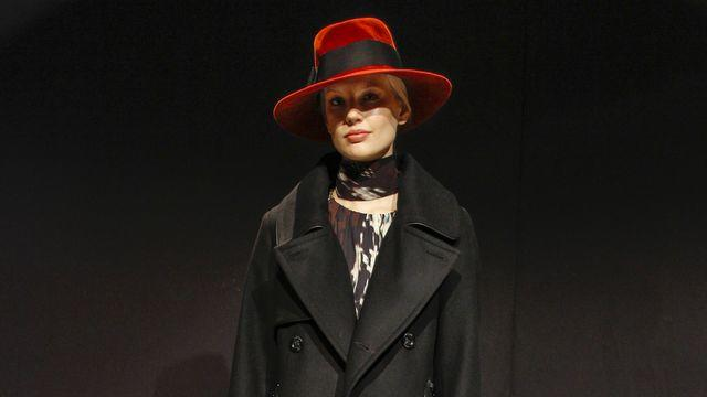 In this photo provided by Trina Turk a model walks the runway during the Trina Turk Fall 2013 fashion show during Fashion Week, Sunday, Feb. 10, 2013, in New York. (AP Photo/Trina Turk, Marcus Tondo)