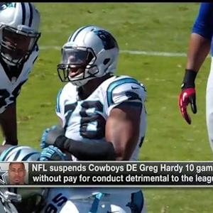 NFL Media Insider Ian Rapoport: Dallas Cowboys defensive end Greg Hardy will appeal suspension
