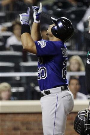 Rosario homers, leads Rockies past Mets 5-2