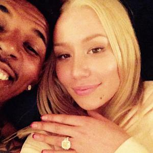 Iggy Azalea Is Engaged to Nick Young: See the Huge $500K Ring!