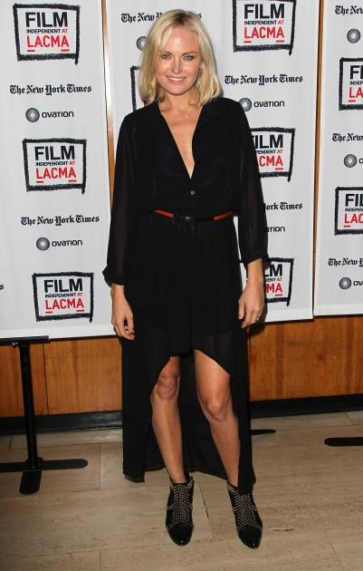 Malin Akerman seen at Film Independent at LACMA's presentation of 'Hotel Noir' at the Bing Theatre at LACMA in Los Angeles on September 25, 2012 -- Getty Premium