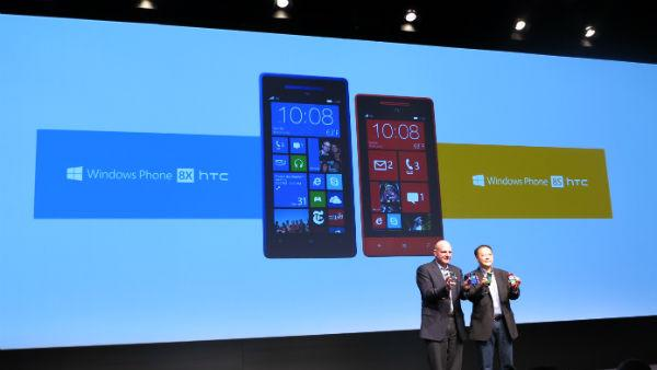 HTC Dives Into Windows Phone 8 With 8X and 8S Phones