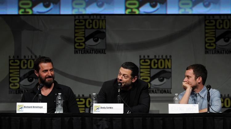 "Warner Bros. Pictures And Legendary Pictures Preview - ""The Hobbit: An Unexpected Journey"" - Comic-Con International 2012"